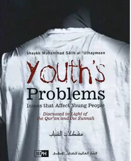 image of book cover youth's problems by shaykh uthaymeen
